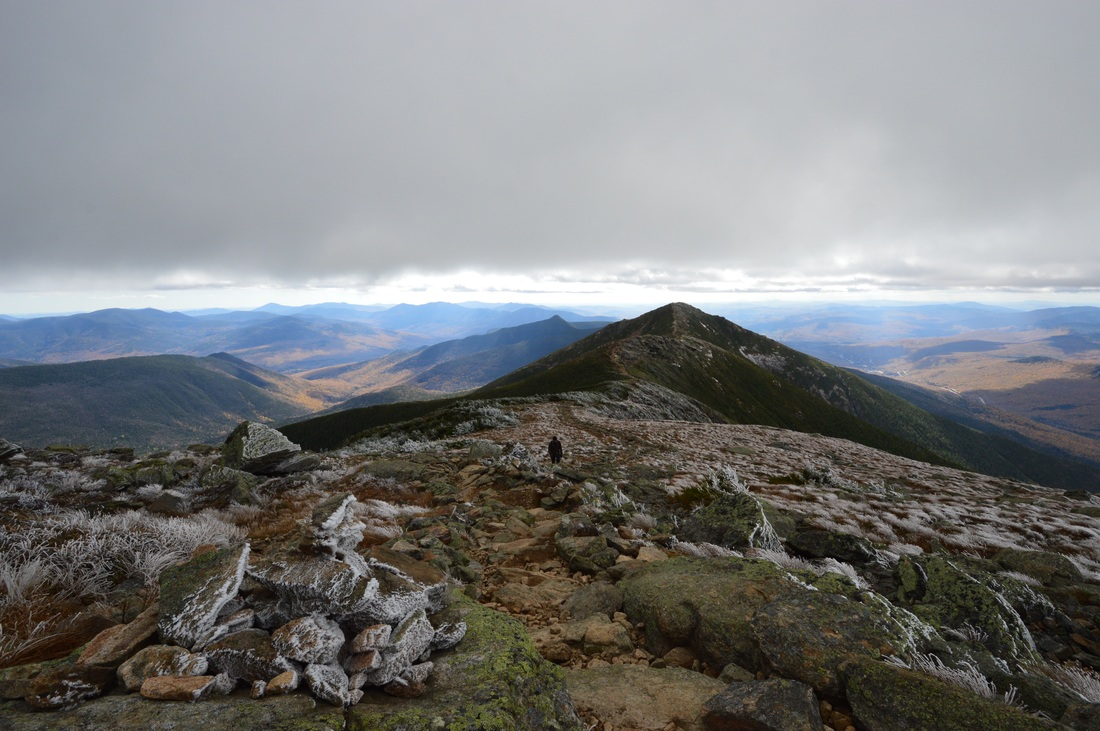 The ridge hike in New hampshire