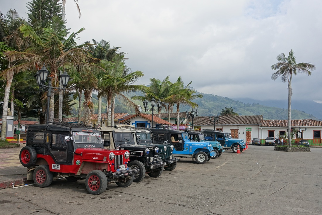 Willys Jeeps in Salento Colombia