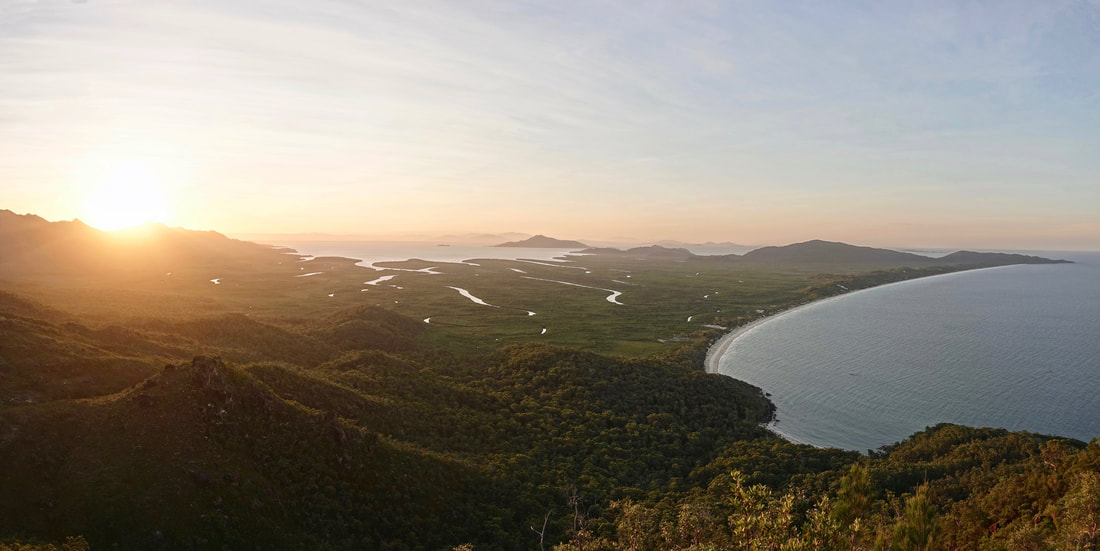Nina Peak sunset hike on Hinchinbrook Island in Queensland Australia
