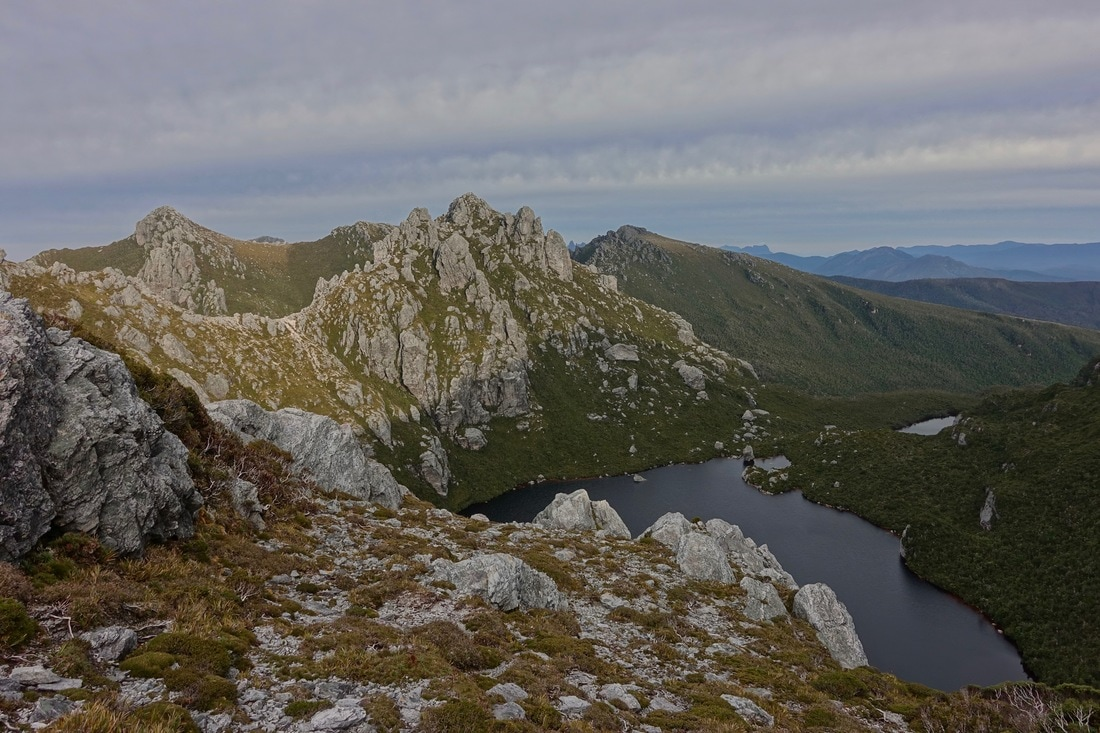 Lake Uranus in the Tassie wilderness