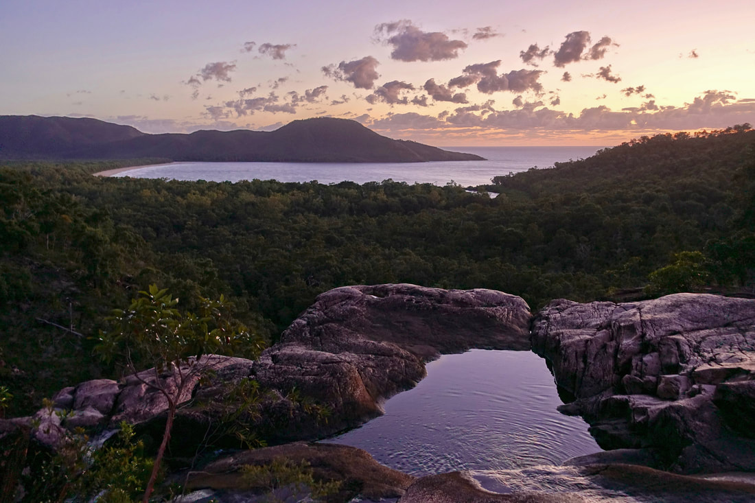 Thorsborne trail hike on Hinchinbrook Island in Australia