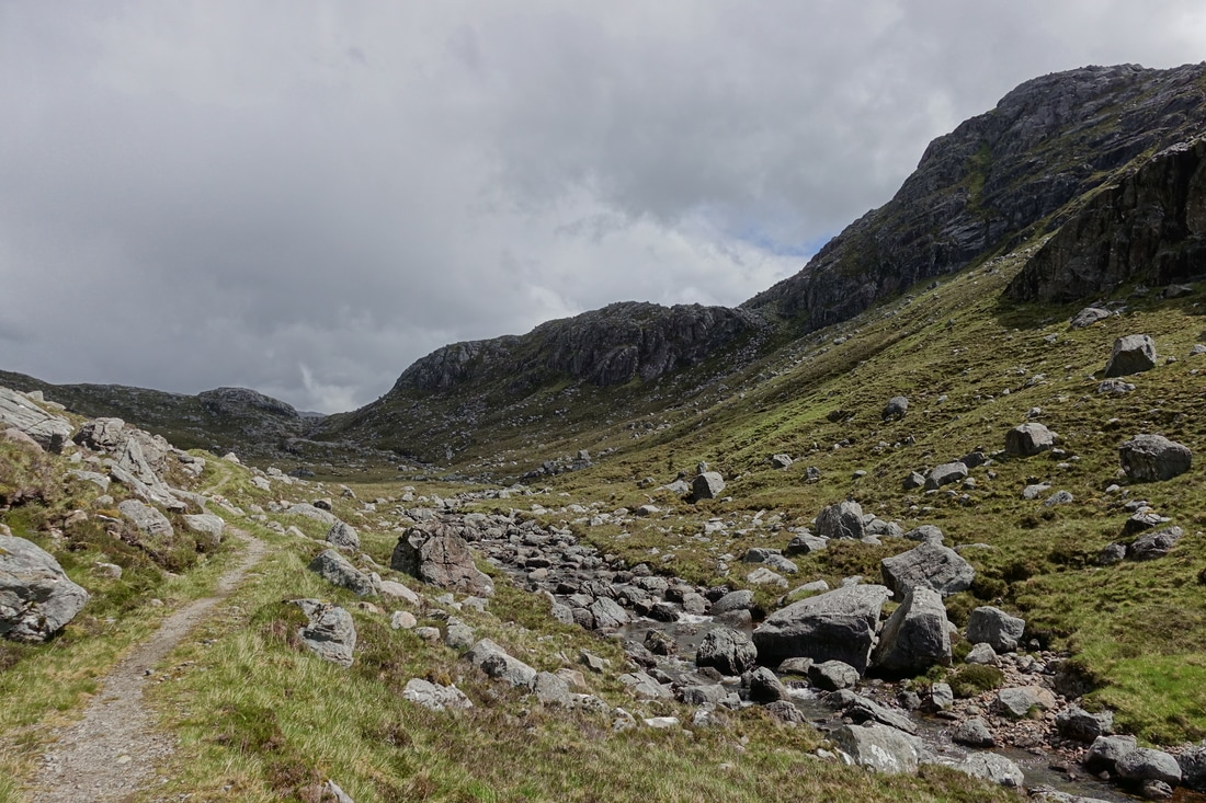 Climbing from Carnmore