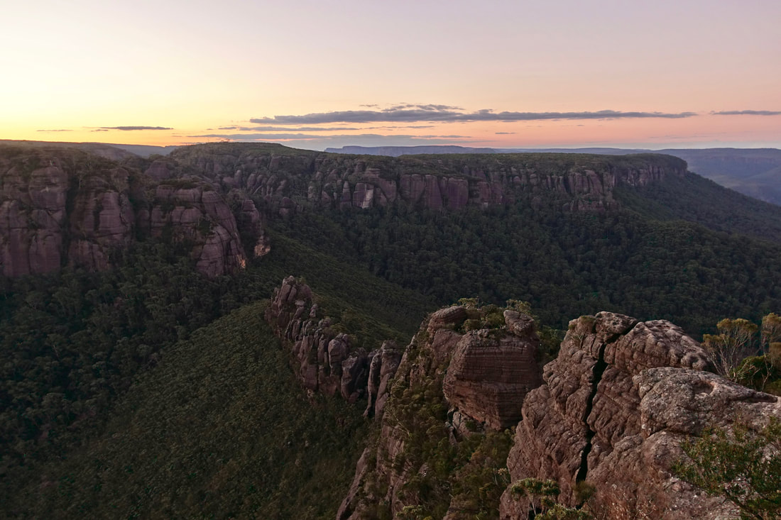 Hike up the Castle in the Budawangs of Australia