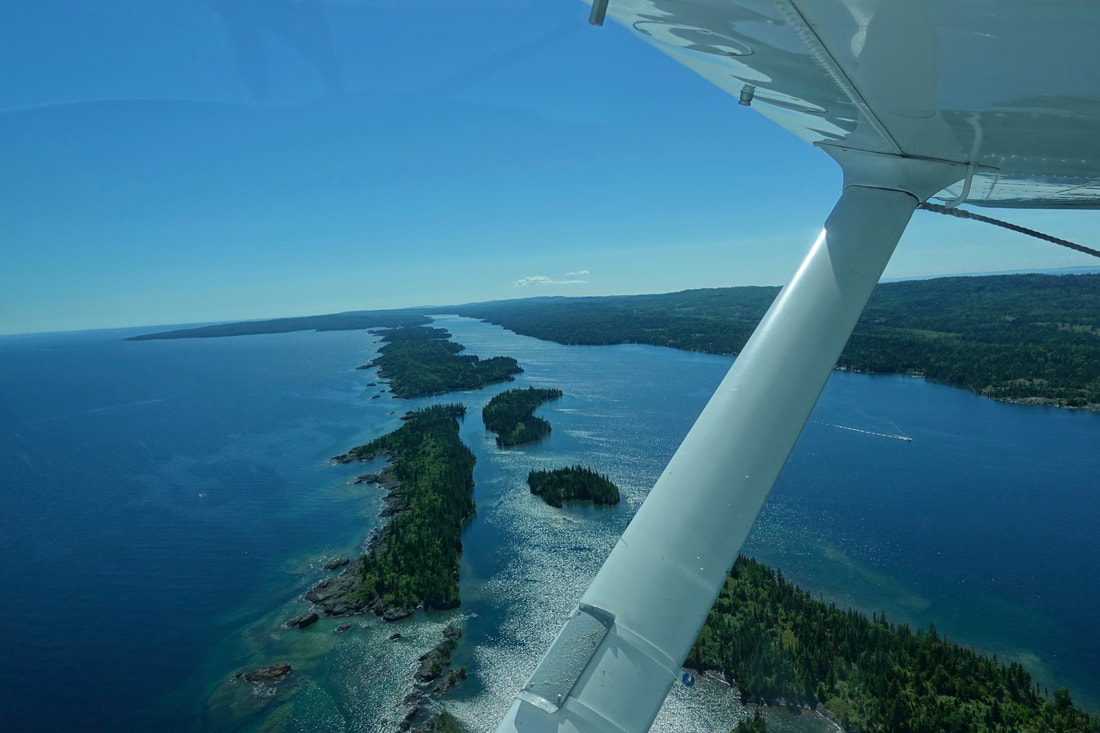 Flight home from Isle Royale