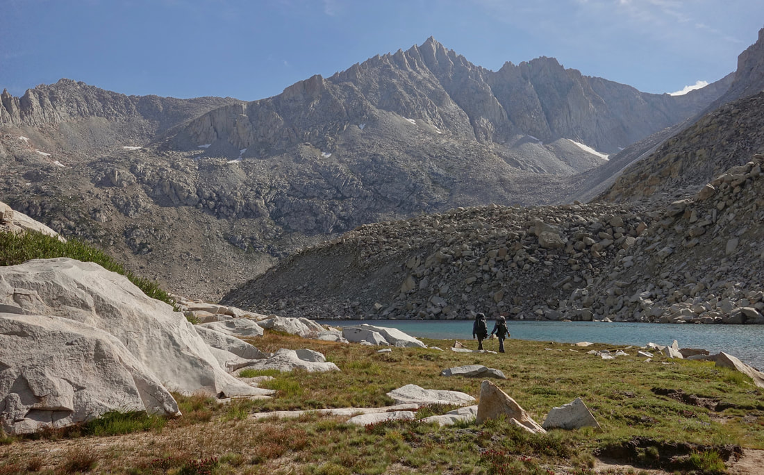 Lake Italy in the John Muir Wilderness
