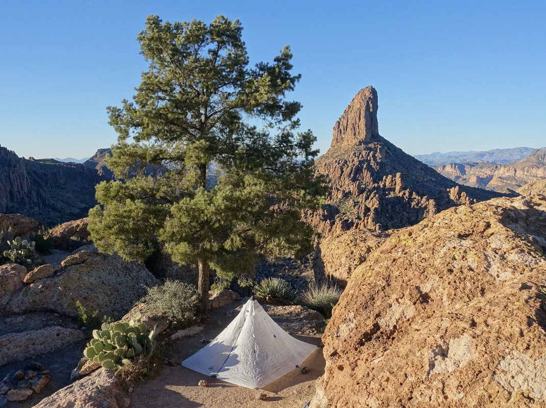 Camping on the Dutchman's Loop